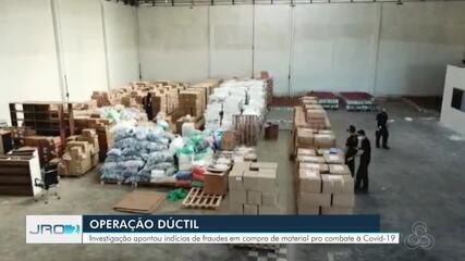 Operação da PF investiga supostas fraudes na saúde durante compra de insumos em RO