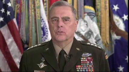 EUA: General admite erro por participar de 'jogo de cena' com presidente