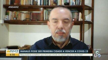 Manaus pode ser a primeira cidade a vencer a Covid-19