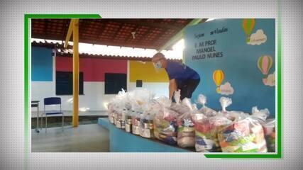 Giuliano Ramos faz doações a famílias de atletas afetados pela pandemia