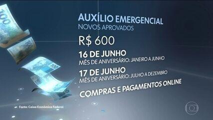 Caixa divulga calendário de nova rodada de saques emergenciais do fundo de garantia