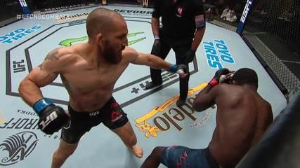 Melhores momentos de Christian Aguilera x Anthony Ivy no UFC Eye x Calvillo