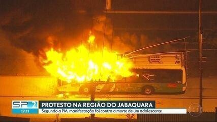 Protesto fecha uma das principais avenidas de Jabaquara