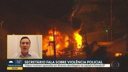 Governo diz invesigar casos de agressões policiais em SP