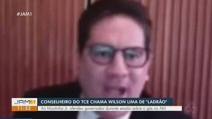 Conselheiro do TCE chama Wilson Lima de 'ladrão'