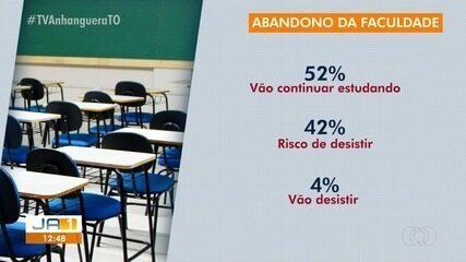 Diminuição de renda: 40% dos estudantes pensam em abandonar faculdade