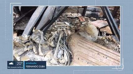 Após incêndio, Polícia Federal começa a perícia no Museu de História Natural da UFMG