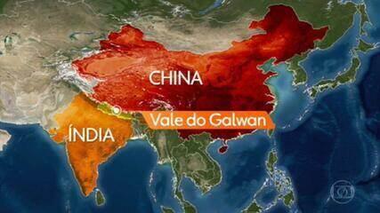'Confronto violento' entre China e Índia deixa 20 soldados mortos no Himalaia