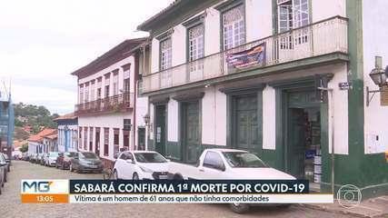 Sabará confirma 1ª morte pela COVID-19