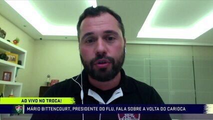 Presidente do Fluminense participa do debate sobre a Medida Provisória publicada pelo Governo
