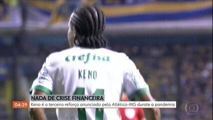 Atlético-MG anuncia a contratação de Keno
