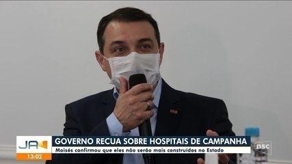 Governo confirma que SC não terá mais hospitais de campanha; Dagmara Spautz comenta