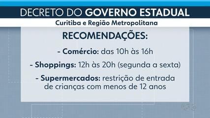 Governo estadual proíbe venda de bebidas alcoólicas depois das 22h no Paraná