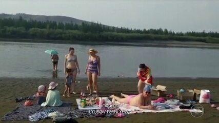 Cidade da Sibéria, no Circulo Polar Ártico, registra 38°C no fim de semana