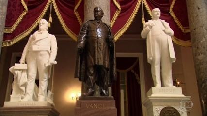 Donald Trump diz que vai mandar prender quem atacar monumentos históricos