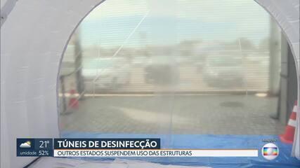 Ministério Público vai analisar instalação de túneis de desinfecção no DF