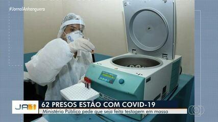 MP pede na Justiça que Goiás realize testes em massa para Covid-19 nos presídios