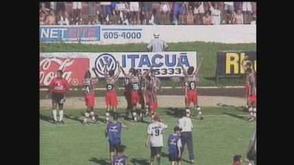 Relembre o acesso do Botafogo-SP para a Série A do Campeonato Brasileiro em 1998