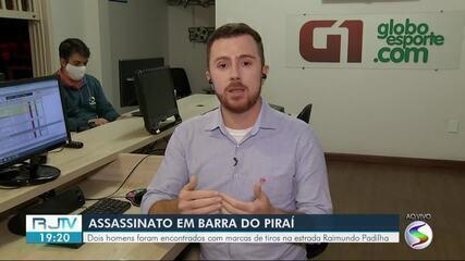 Dois homens são assassinados a tiros em estrada de área rural de Barra do Piraí