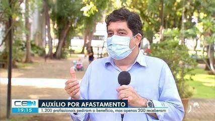 Mais de 1.200 profissionais da saúde afastados por covid-19 pediram auxílio financeiro