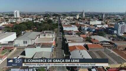 Site ajuda comerciantes de Leme a alavancar as vendas em meio à pandemia de coronavírus