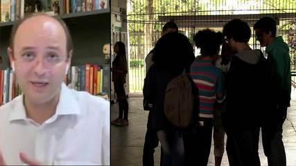Secretário Educação de SP, Rossieli Soares, fala sobre a programação de volta às aulas