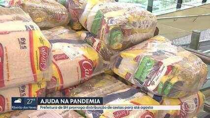 Prefeitura de Belo Horizonte prorroga distribuição de cestas básicas durante pandemia