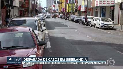 Uberlândia ultrapassa BH e se torna a cidade com mais casos da Covid-19 em Minas