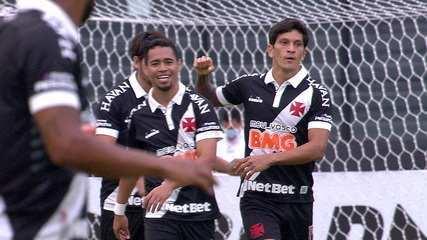 Os gols de Vasco 3 x 1 Macaé pela 4ª rodada da Taça Rio