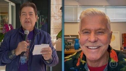 """Miguel Falabella comenta apresentações de Paulo Ricardo, Sandra de Sá e Fafá de Belém do """"Show dos Famosos"""""""