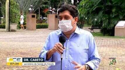 Veja entrevista com o Secretário da Saúde do Ceará