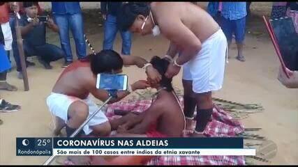 São mais de 100 casos de Covid-19 entre índios da etnia Xavante