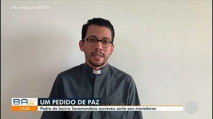 Padre de bairro em Salvador escreve carta aos moradores