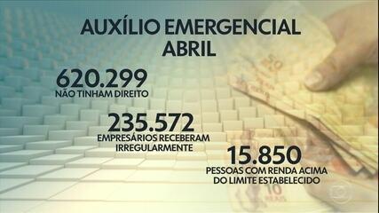 Veja exemplos de pessoas que receberam o auxílio emergencial irregularmente