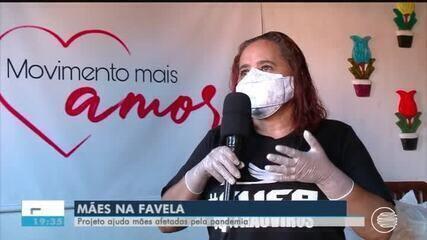 Projeto ajuda mães afetadas pela pandemia