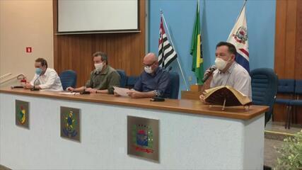 Prefeitos da região se reúnem para discutir ações contra o avanço da Covid-19