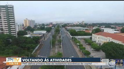 Prefeitura define primera etapa de retomada de atividades em Teresina