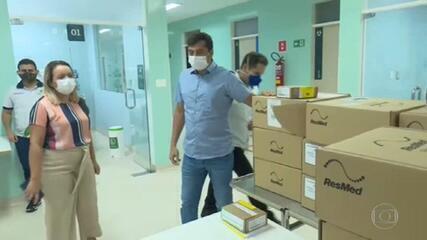 Governador do Amazonas é alvo de operação que investiga fraudes na compra de respiradores