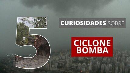 Ciclone bomba afeta clima no Sul e no Sudeste; veja 5 curiosidades sobre esse fenômeno