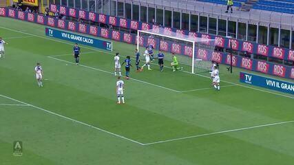 Os gols de Inter de Milão 6 x 0 Brescia pelo Campeonato Italiano