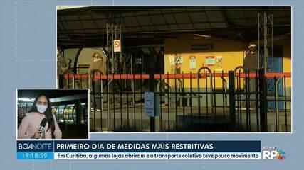 Governo do Estado muda artigos do decreto de medidas mais restritivas no Paraná
