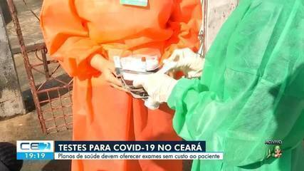 Testagem para covid-19 no Ceará