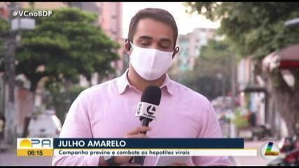 Julho Amarelo: Campanha previne e combate as hepatites virais