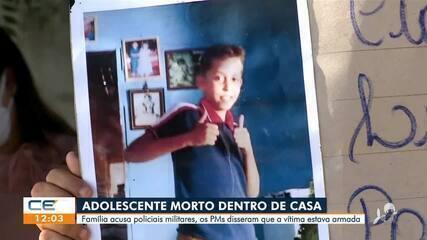 Adolescente é morto a tiros por policiais dentro de casa