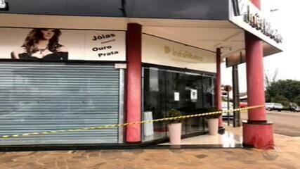 Empresária é morta durante assalto a joalheria em Ametista do Sul
