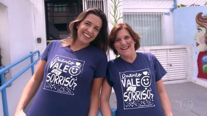 Marisa e Aline participam do 'The Wall' em busca de ajuda para projeto