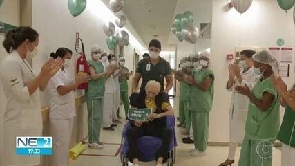 Idoso de 104 anos tem alta de hospital após ser infectado com a Covid-19