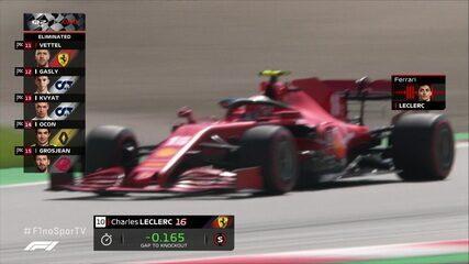 """Leclerc sobre passar para o Q3 na 10ª posição: """"Isso é louco"""""""
