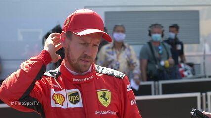 Vettel diz que não estava confiante com o carro