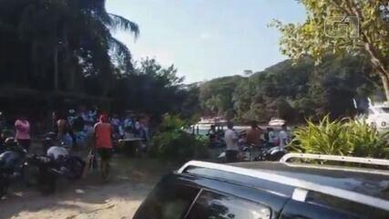 Moradores fazem 'festa' com lanchas e jet skis em meio a pandemia em Itanhaém (SP)